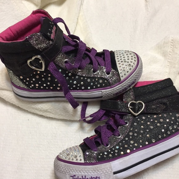 4864e3b91ebb5 Skechers Shoes | Sketchers Twinkle Toes Bling Blinking Fun | Poshmark